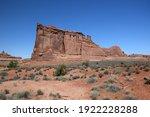 Rock Formation In Moab Utah