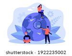 tiny people working from... | Shutterstock .eps vector #1922235002