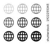 www world wide web set site... | Shutterstock .eps vector #1922255345
