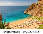 Kaputas Beach With Blue Water...