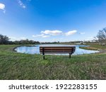 Wide Angle View Of Bench Facing ...