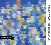 geometric background  colorful... | Shutterstock .eps vector #192228488