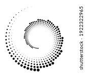 dots  circles spiral  swirl ... | Shutterstock .eps vector #1922322965