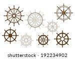 steering wheels set for...   Shutterstock . vector #192234902