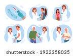 doctor people vaccinate... | Shutterstock .eps vector #1922358035