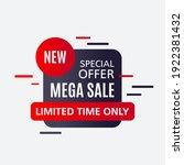 promotional sale banner...   Shutterstock .eps vector #1922381432