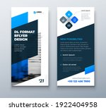 dl flyer design layout. black...   Shutterstock .eps vector #1922404958