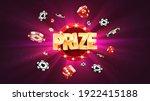 win prize in gambling game... | Shutterstock .eps vector #1922415188