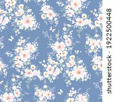 seamless spring vector pattern... | Shutterstock .eps vector #1922500448
