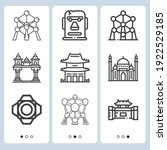 Simple Set Of  9 Lineal Icons...