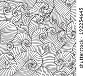 elegant seamless pattern with... | Shutterstock .eps vector #192254645