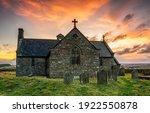 Old Stone Church At Sunrise....