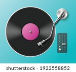 Retro Music Turntable For Vinyl ...