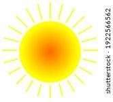 the best animation of sun   Shutterstock . vector #1922566562