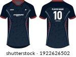 sports jersey t shirt design... | Shutterstock .eps vector #1922626502