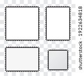 picture frames with different... | Shutterstock .eps vector #1922634818