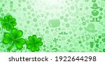 background on st. patrick's day ... | Shutterstock .eps vector #1922644298