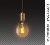 decorative retro edison light...   Shutterstock .eps vector #1922666645
