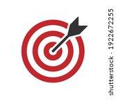 bullseye target icon symbol....