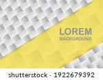 yellow and grey geometric...   Shutterstock .eps vector #1922679392