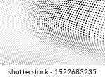 abstract halftone wave dotted... | Shutterstock .eps vector #1922683235