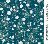 seamless spring floral pattern... | Shutterstock .eps vector #1922694782