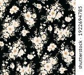 seamless spring vector pattern... | Shutterstock .eps vector #1922694785