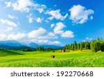 Beautiful Landscape Of Valley...