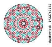 oriental geometric mandala... | Shutterstock . vector #1922763182