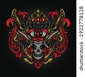 artwork illustration and t... | Shutterstock .eps vector #1922778128