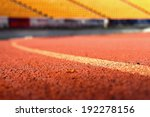 running track for the athletes... | Shutterstock . vector #192278156