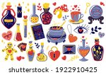 love potion. magical objects...   Shutterstock .eps vector #1922910425