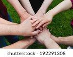 teamwork | Shutterstock . vector #192291308