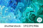 oil painted background. vector... | Shutterstock .eps vector #192291986