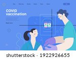 medical insurance web page...   Shutterstock .eps vector #1922926655