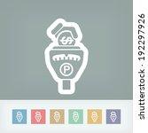 parking meter | Shutterstock .eps vector #192297926