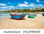 Fisherman Boats At The Beach In ...