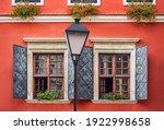 Bavarian Window With Open Iron...