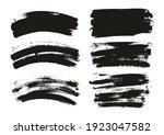 round sponge thin artist brush... | Shutterstock .eps vector #1923047582