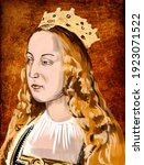Isabella I was Queen of Castile from 1474 and, as the wife of King Ferdinand II, Queen of Aragon