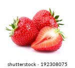 fresh strawberry  | Shutterstock . vector #192308075