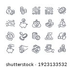 collection of coins  money ...   Shutterstock .eps vector #1923133532