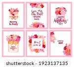 happy mother's day greeting...   Shutterstock .eps vector #1923137135