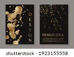 modern abstract luxury wedding... | Shutterstock .eps vector #1923155558