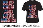 keep calm and love america.eps... | Shutterstock .eps vector #1923216818
