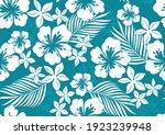 Hibiscus Hawaii Seamless...