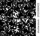 seamless black and white... | Shutterstock .eps vector #1923300422