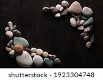 sea stones in the form of a... | Shutterstock . vector #1923304748