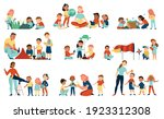 nature study set of isolated...   Shutterstock .eps vector #1923312308