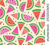 vector seamless pattern from...   Shutterstock .eps vector #1923315692